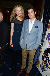 JACK & KATE FREUD at the Hoping Foundation's 'Rock On' Benefit Evening for Palestinian refuge children held at the Cafe de Paris, London on 20th June 2013.