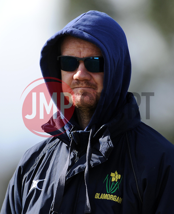 Glamorgan's Coach David Harrison- Photo mandatory by-line: Harry Trump/JMP - Mobile: 07966 386802 - 24/03/15 - SPORT - CRICKET - Pre Season Fixture - Day 2 - Somerset v Glamorgan - Taunton Vale Cricket Club, Somerset, England.