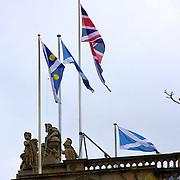 As the subject of Scottish indepence brews in the UK, will it result in the Union Jack be taken down in Edinburgh?