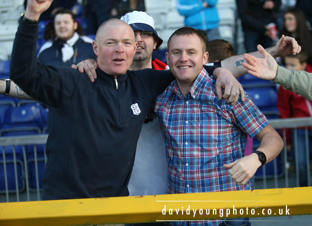 Dundee fans - Inverness Caledonian Thistle v Dundee at Caledonian Stadium, Inverness<br /> <br />  - &copy; David Young - www.davidyoungphoto.co.uk - email: davidyoungphoto@gmail.com
