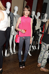 ELLA CATLIFF at the Juicy Couture - Viva La Juicy perfume Party held at Home House, Portman Square, London on 30th May 2013.