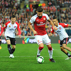 Olivier Giroud of Arsenal on the ball during Western Sydney Wanderers vs Arsenal, Preseason Friendly , 15.07.17 (c) Harriet Lander | SportPix.org.uk