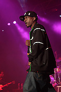 "June 3, 2012-Philadelphia, PA-United States : Legendary Hip Hop Recording Artist Rakim performs at the 5th Annual ROOTS Picnic held at Festival Pier at Penn's Landing in Philadelphia, PA on June 3, 2012 in Philidelphia, PA. The Roots is an American hip hop/neo soul band formed in 1987 by Tariq ""Black Thought"" Trotter and Ahmir ""Questlove"" Thompson in Philadelphia, Pennsylvania. They are known for a jazzy, eclectic approach to hip hop which includes live instrumentals. (Photo by Terrence Jennings)"