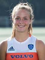 UTRECHT - Lisa Post. Jong Oranje dames voor EK 2017 in Valencia. COPYRIGHT KOEN SUYK