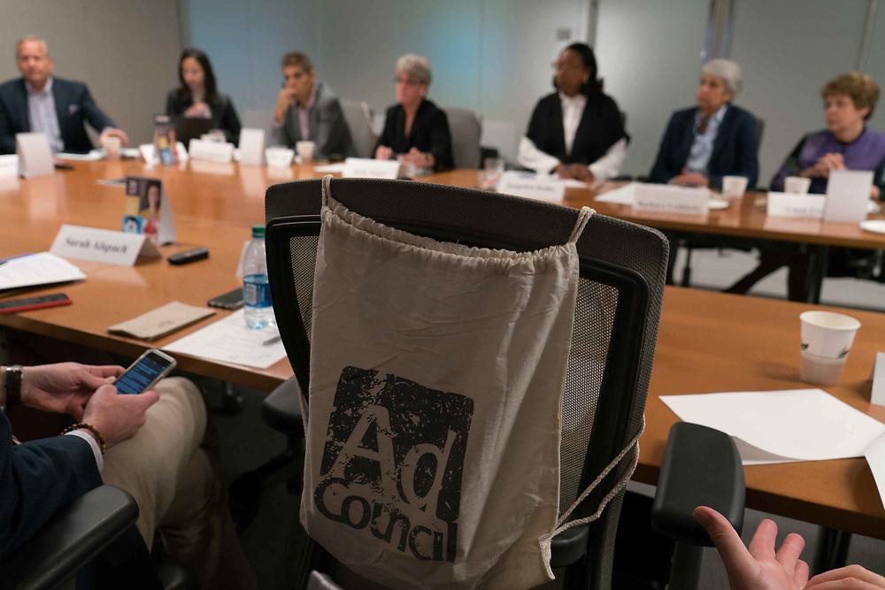 Soledad O'Brien, in a mtg Photo Ken Cedeno/UPI