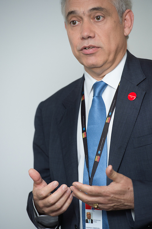 03 June 2015 - Belgium - Brussels - European Development Days - EDD - Meeting with the future leaders - Fernando Frutuoso de Melo , General Director for International Corporation and Development of European Commission © European Union