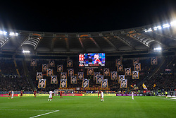 February 3, 2019 - Rome, Rome, Italy - Roma supporters during the Serie A match between Roma and AC Milan at Stadio Olimpico, Rome, Italy on 3 February 2019. (Credit Image: © Giuseppe Maffia/NurPhoto via ZUMA Press)