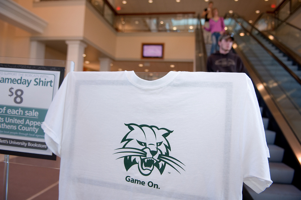 "18443 campus fall 2007....""Game On"" Shirt"