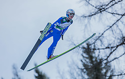 10.01.2015, Kulm, Bad Mitterndorf, AUT, FIS Ski Flug Weltcup, Bewerb, im Bild Rune Velta (NOR) // soars to the Air during his Competition Jump of the FIS Ski Flying World Cup at the Kulm, Bad Mitterndorf, Austria on 2015/01/10, EXPA Pictures © 2015, PhotoCredit: EXPA/ Dominik Angerer