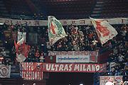 tifosi AX Armani Exchange Milano<br /> Olimpia AX Milano - Panathinaikos Atene<br /> Eurolega 2019 -2020<br /> Milano, 09/01/2020<br /> Foto Ciamillo-Castoria/ Claudio Degaspari