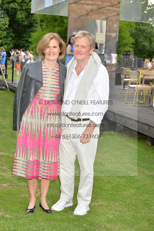 John & Catherine Pawson at the Dulwich Picture Gallery's inaugural Summer Party, Dulwich Picture Gallery, College Road, London England. 13 June 2017.