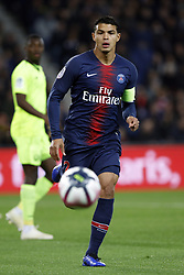 November 2, 2018 - Paris, Ile-de-France, France - Thiago Silva attends the soccer match game between PSG and Lille at the Parc de Prince, in Paris, France. On November 2, 2018. (Photo by Mehdi Taamallah / Nurphoto) (Credit Image: © Mehdi Taamallah/NurPhoto via ZUMA Press)