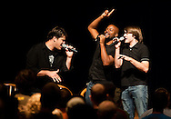 September 11, 2009: Acappella perfoms after chapel on the campus of Oklahoma Christian University