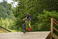 Highland Mountain Bike Park Northfields, NH.  Karen Bobotas for the Laconia Daily Sun