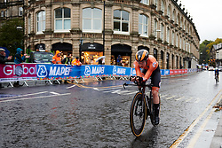 Anna van der Breggen (NED) at UCI Road World Championships 2019 Elite Women's TT a 30.3 km individual time trial from Ripon to Harrogate, United Kingdom on September 24, 2019. Photo by Sean Robinson/velofocus.com