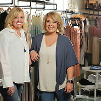 Three Eleven store owner Laura McCreary and store manager Gracie Michael.