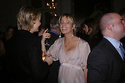 Jessie Brindan and Fiona Henderson, Tiffany & Co. Christmas party. the Savile Club. Brook St. London. 14 December 2004.  ONE TIME USE ONLY - DO NOT ARCHIVE  © Copyright Photograph by Dafydd Jones 66 Stockwell Park Rd. London SW9 0DA Tel 020 7733 0108 www.dafjones.com