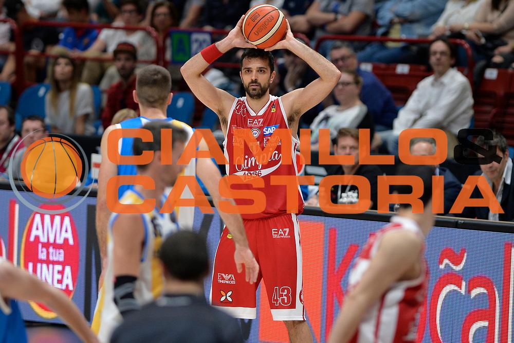 Simon Krunoslav<br /> Olimpia EA7 Emporio Armani Milano vs Vanoli Cremona<br /> Lega Basket Serie A 2016/2017<br /> PlayOff semifinale gara 2<br /> Milano 14/05/2017<br /> Foto Ciamillo-Castoria / I.Mancini