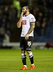 Bradley Johnson of Derby County  - Mandatory byline: Matt McNulty/JMP - 25/01/2016 - FOOTBALL - Turf Moor - Burnley, England - Burnley v Derby County - Sky Bet Championship