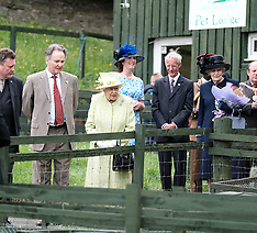 The Queen visits Gorgie City Farm, Edinburgh, 4 July 2019