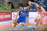 DESCRIZIONE : Lubiana Ljubliana Slovenia Eurobasket Men 2013 Second Round Grecia Croazia Greece Croatia<br /> GIOCATORE : Kostas Sloukas<br /> CATEGORIA : Palleggio Fallo<br /> SQUADRA : Grecia Greece<br /> EVENTO : Eurobasket Men 2013<br /> GARA : Grecia Croazia Greece Croatia<br /> DATA : 16/09/2013 <br /> SPORT : Pallacanestro <br /> AUTORE : Agenzia Ciamillo-Castoria/Max.Ceretti<br /> Galleria : Eurobasket Men 2013<br /> Fotonotizia : Lubiana Ljubliana Slovenia Eurobasket Men 2013 Second Round Grecia Croazia Greece Croatia<br /> Predefinita :