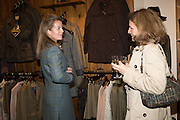 ANGHARAD MARMENT; VANESSA MARMENT, Tatler and Dubarry host an evening with Clare Balding, Dubarry of Ireland, 34 Duke of York's Sq. London. 13 October 2016.