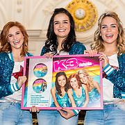 NLD/Amsterdam/20161111 - CD presentatie K3 Ushuaia, k3 Hanne Verbruggen, Marthe De Pillecyn en Klaasje Meijer