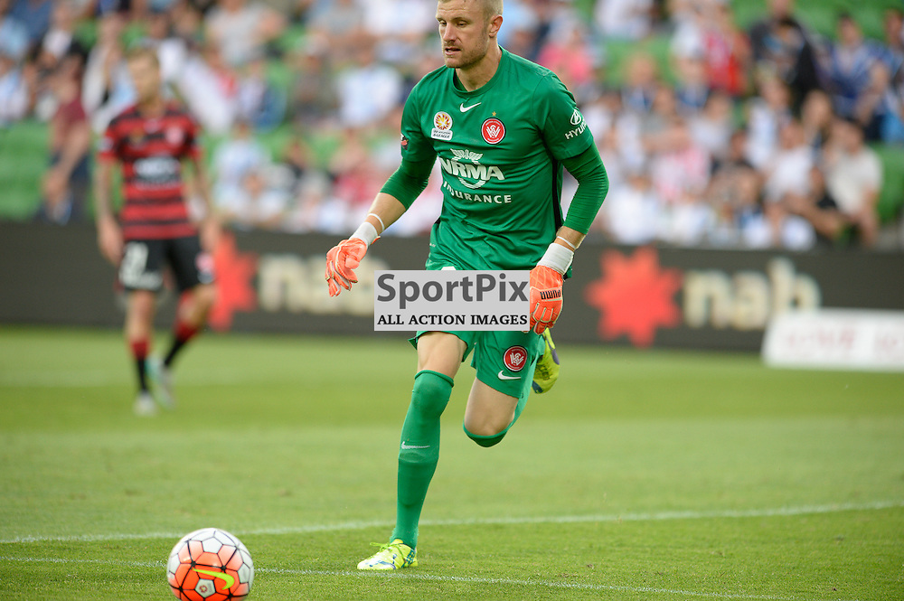 Anthony Redmayne (GK) of Western Sydney Wanderers FC - Hyundai A-League, January 9th 2016, RD14 match between Melbourne City FC v Western Sydney Wanderers FC at Aami Park in a 3:2 win to City. Melbourne, Australia. © Mark Avellino | SportPix.org.uk