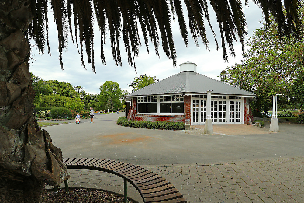 The renovated Tea Kiosk in the Botanic Gardens,  Christchurch, New Zealand, Tuesday, 3 November, 2015.   Credit: SNPA / Pam Carmichael