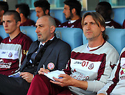 Udine, 04 maggio 2014.<br /> Serie A 2013/2014. 36^ giornata.<br /> Stadio Friuli<br /> Udinese vs Livorno.<br /> Nella foto: Davide Nicola, allenatore Livorno.<br /> © foto di Simone Ferraro