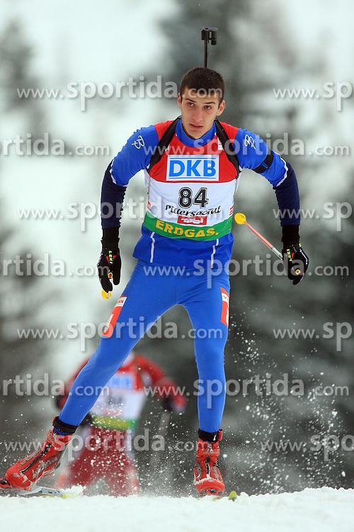 Nemanja Kosarac (BIH) at Men 20 km Individual at E.ON Ruhrgas IBU World Cup Biathlon in Hochfilzen (replacement Pokljuka), on December 18, 2008, in Hochfilzen, Austria. (Photo by Vid Ponikvar / Sportida)