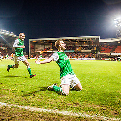 Dundee United 2 v 2 Hibernian, SPL game at Tannadice Park