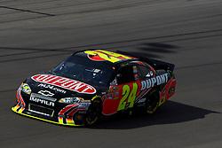 Mar 11, 2012; Las Vegas, NV, USA;  Sprint Cup Series driver Jeff Gordon (24) during the Kobalt Tools 400 at Las Vegas Motor Speedway. Mandatory Credit: Jason O. Watson-US PRESSWIRE