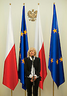 KATARZYNA FRANK NIEMCZYCKA WHILE SPECIAL OLYMPICS OFFICIAL VISIT AT PRESIDENTIAL PALACE IN WARSAW...THE IDEA OF SPECIAL OLYMPICS IS THAT, WITH APPROPRIATE MOTIVATION AND GUIDANCE, EACH PERSON WITH INTELLECTUAL DISABILITIES CAN TRAIN, ENJOY AND BENEFIT FROM PARTICIPATION IN INDIVIDUAL AND TEAM COMPETITIONS..WARSAW , POLAND , OCTOBER 19, 2011..MANDATORY CREDIT: PHOTO BY ADAM NURKIEWICZ / MEDIASPORT