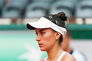 Veronica Cepede Royg (par) during the Roland Garros French Tennis Open 2018, day 2, on May 28, 2018, at the Roland Garros Stadium in Paris, France - Photo Pierre Charlier / ProSportsImages / DPPI