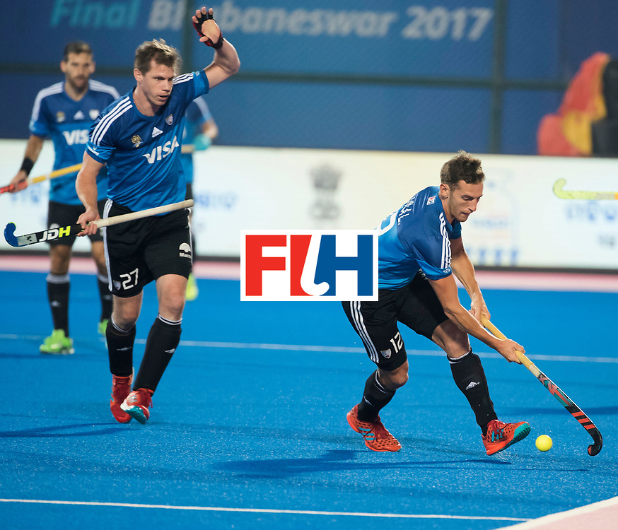 Odisha Men's Hockey World League Final Bhubaneswar 2017<br /> Match id:14<br /> England v Argentina , Quater Final<br /> Foto: Lucas Vila (Arg) <br /> WSP COPYRIGHT KOEN SUYK