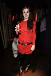 JESSICA NAYLOR-LEYLAND at the Tatler Little Black Book Party held at Chinawhite, 4 Winsley Street, London on 20th November 2009.
