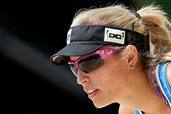 Simona Fabjan of Slovenia at A1 Beach Volleyball Grand Slam presented by ERGO tournament of Swatch FIVB World Tour 2012, on July 17, 2012 in Klagenfurt, Austria. (Photo by Matic Klansek Velej / Sportida)