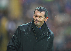 PRESTON, ENGLAND - Saturday, January 15, 2011: Preston North End manager Phil Brown reacts during the Football League Championship match at Deepdale. (Photo by Chris Brunskill/Propaganda)