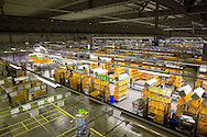 Deutsche Post Briefzentrum in Hamburg Altona / 310117<br /> <br /> [Briefzentrum (BZ) HH-Zentrum kann bis 4,5 Mio. Briefe t&auml;glich sortieren f&uuml;r die PLZ-Bereiche 20 &amp; 22 mit einem Versorgungsbereich von 945 qkm. Das Zentrum hat rund 600 Mitarbeiter]<br /> <br /> ***Mail Distribution Center of the Deutsche Post in Hamburg, Germany on January 312, 2017***