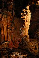 France, Languedoc Roussillon, Hérault, Saint Bauzille de Putois, la grotte des Demoiselles, la cathedrale, la Vierge à l'Enfant