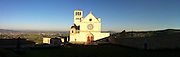 Panoramic view of St. Francis of Assisi Basilica in Assisi. (Sam Lucero photo)