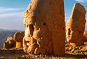 TTURKEY, NEMRUT DAGI shrine to gods and Antiochus I tomb