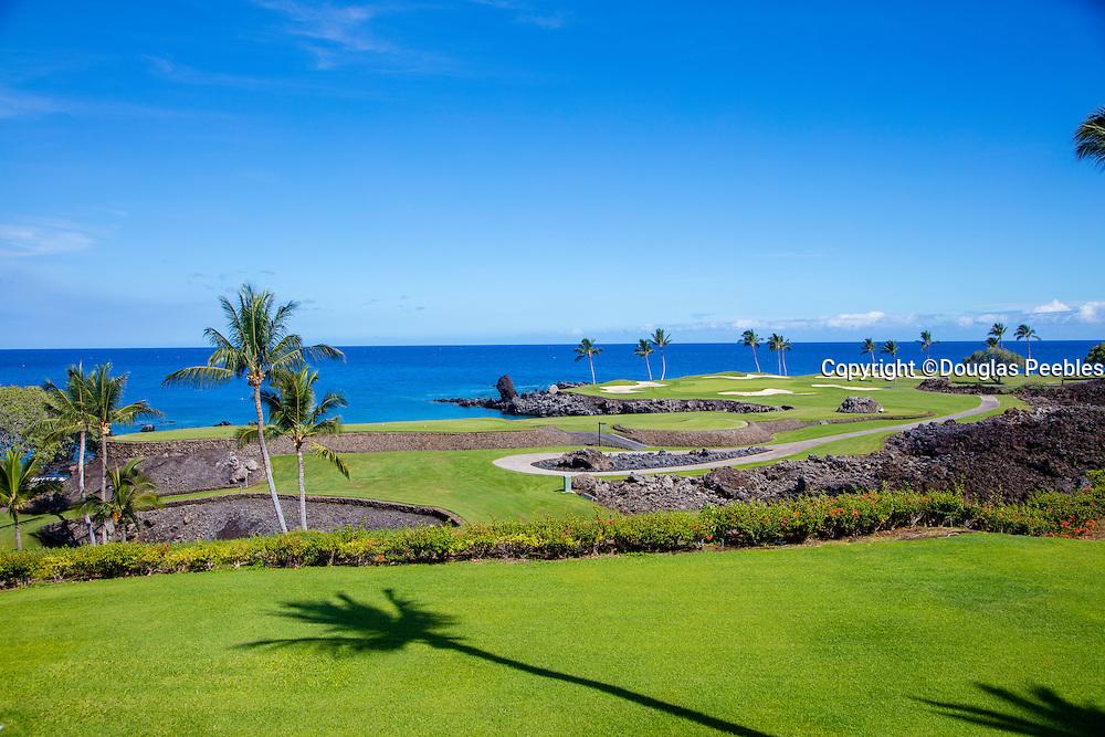 Muana Lani Golf Course 7th hole, Kohala, Big Island of Hawaii