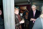 PATRICIA HODGE; PETER OWEN, Enlightenment, Gala night, Hampstead Theatre, Swiss Cottage, London. 5 October 2010. -DO NOT ARCHIVE-© Copyright Photograph by Dafydd Jones. 248 Clapham Rd. London SW9 0PZ. Tel 0207 820 0771. www.dafjones.com.