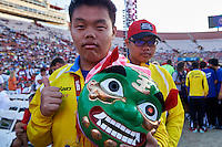 SO Chine PR Team while Closing Ceremony of the Special Olympics World Games Los Angeles 2015 at the Los Angeles Coliseum Stadium on ninth day, August 2, 2015 in Los Angeles, USA.<br /> <br /> USA, Los Angeles, August 2, 2015<br /> <br /> Picture also available in RAW (NEF) or TIFF format on special request.<br /> <br /> For editorial use only. Any commercial or promotional use requires permission.<br /> <br /> Adam Nurkiewicz declares that he has no rights to the image of people at the photographs of his authorship.<br /> <br /> Mandatory credit:<br /> Photo by &copy; Adam Nurkiewicz / Mediasport