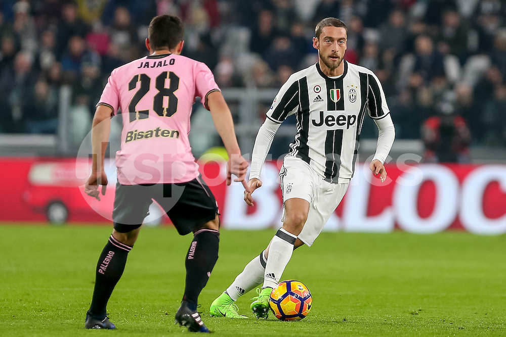 Claudio Marchisio of Juventus during the Serie A match between Juventus and Palermo at the Juventus Stadium, Turin, Italy on 17 February 2017. Photo by Marco Canoniero.