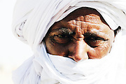 Tuareg man in Timbuktu during the 2010 edition of the Festival au Désert