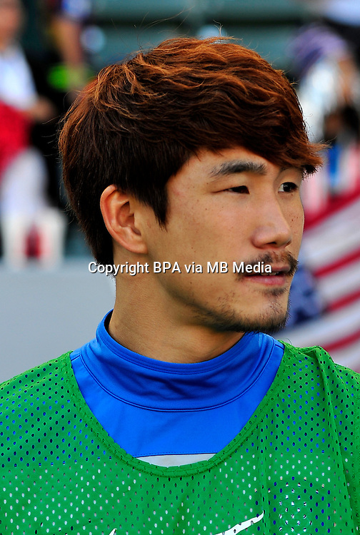 Football International Friendly Matchs 2014 / <br /> Usa vs Korea Republic 2-0   ( StubHub Center Stadium - Carson - LA , Usa ) - <br /> Kim Dae-Ho of Korea Republic  , During the match between Usa and Korea Republic