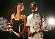 PT_338585_FITT_tennis_1.BRENDAN FITTERER   |   Times .(05/12/2011 New Port Richey) The Times all-North Suncoast tennis players of the year:  River Ridge's Tijana Subotic, left, and Wiregrass Ranch's Courage Okungbowa..BRENDAN FITTERER   |   Times .
